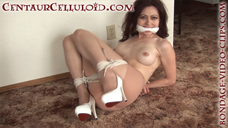Bondage gagged pantyhose excellent topic