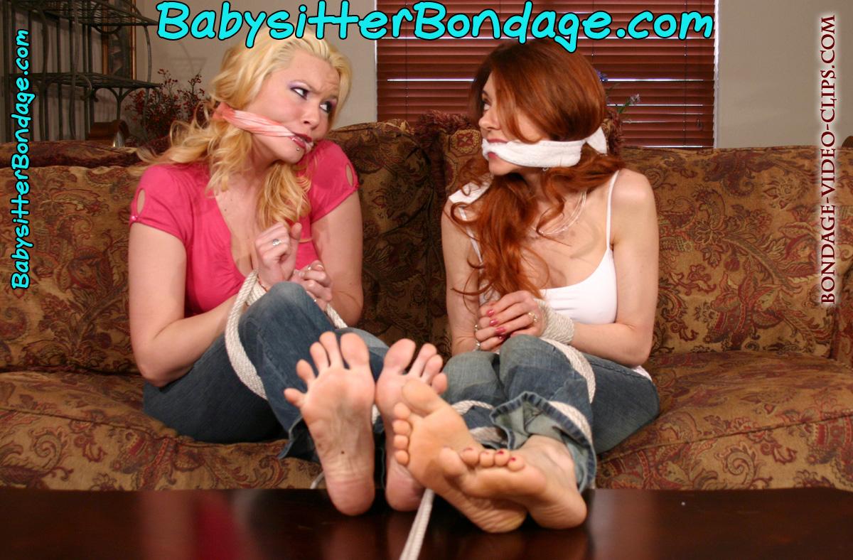 Bondage video clip